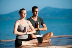 Meditation promotes immunity