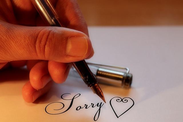 10 Creative Ways to Say Sorry
